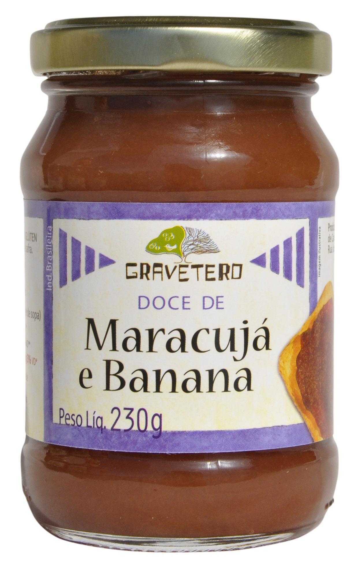 Doce de Banana com Maracujá