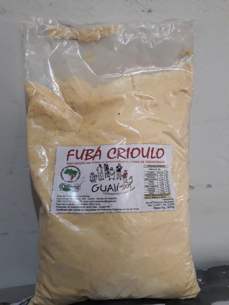 Fubá de milho Guaií