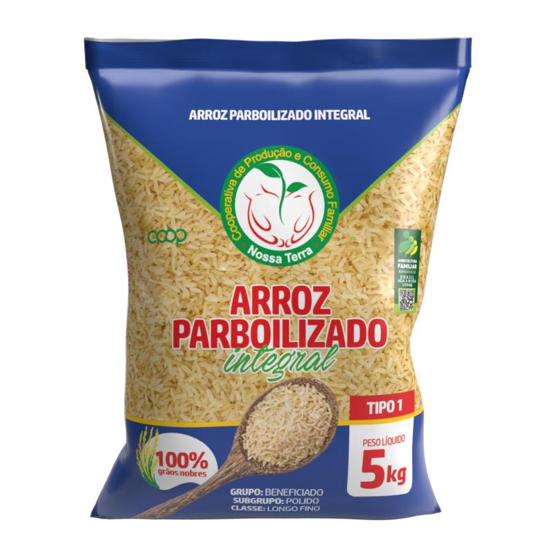 ARROZ PARBOILIZADO INTEGRAL - 5 KG