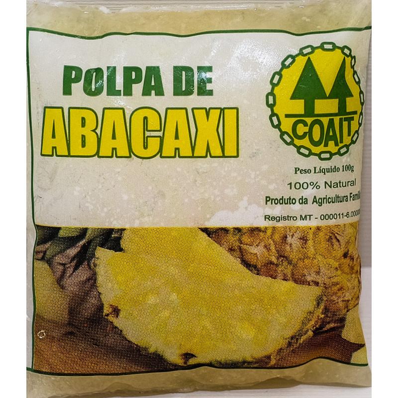 polpa natural de abacaxi