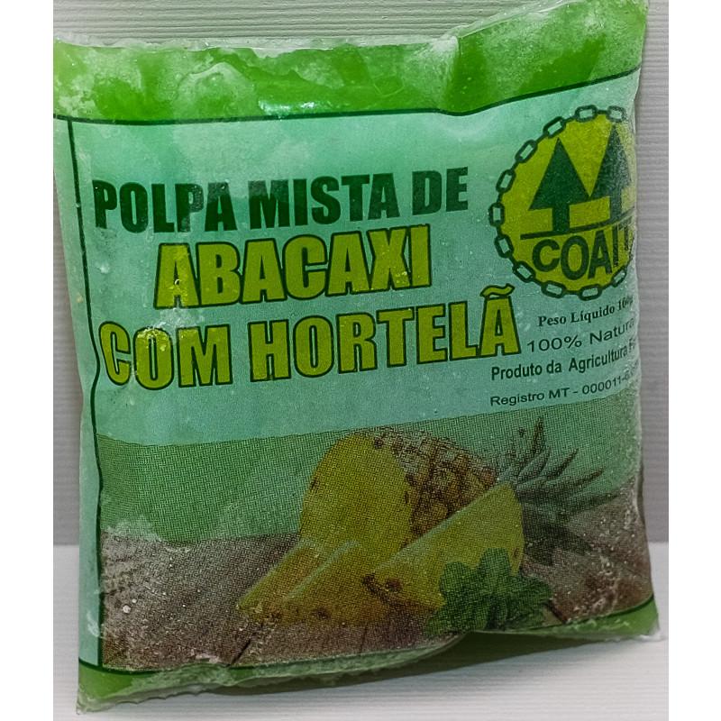 polpa de abacaxi c/hortelã