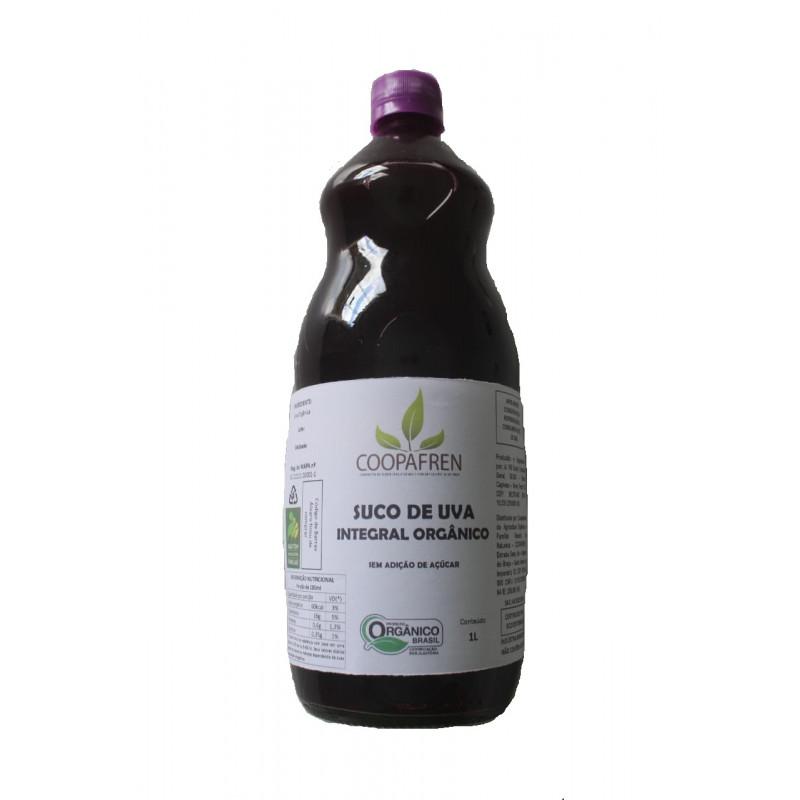Suco de uva integral orgânico