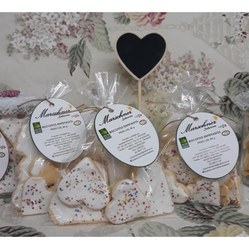 Biscoitos enfeitados
