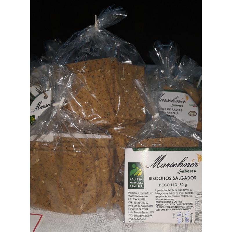 Biscoitos Salgados Integrais