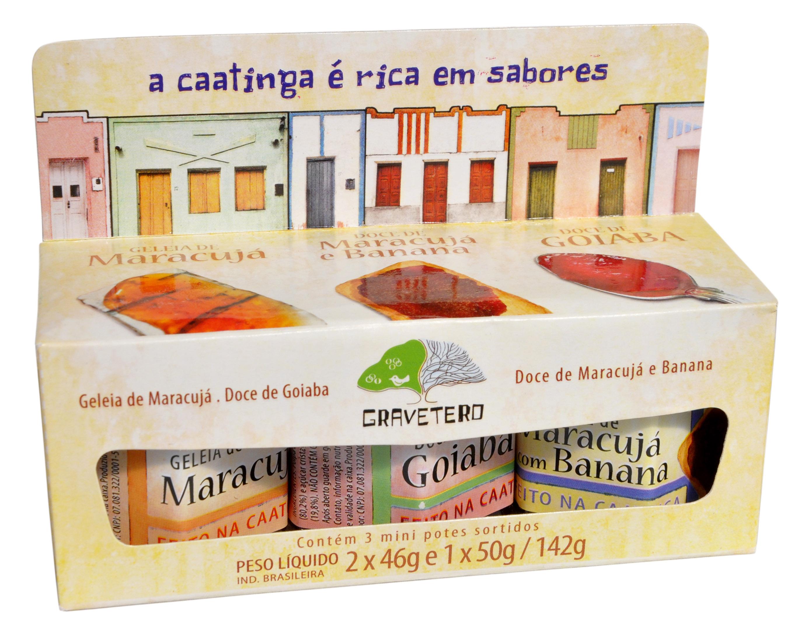Doce - Kit Frutas do Brasil