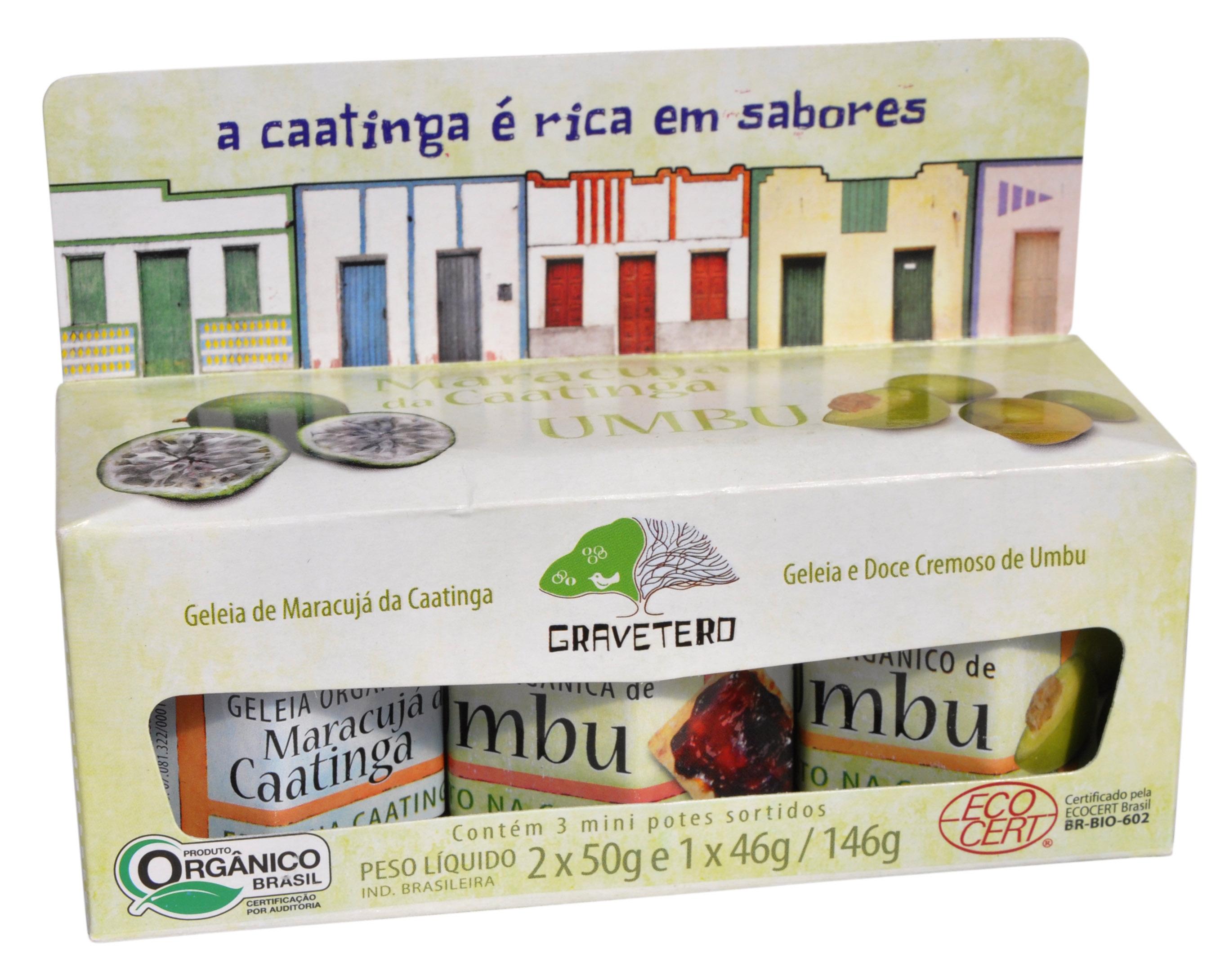 Doce - Kit Frutas da Caatinga