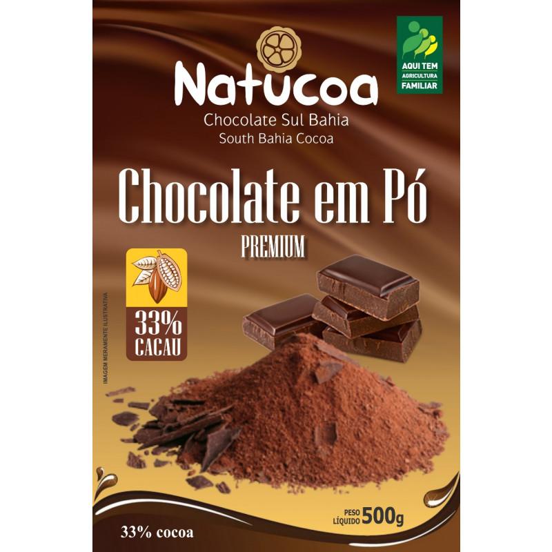 CHOCOLATE EM PÓ 33% NATUCOA