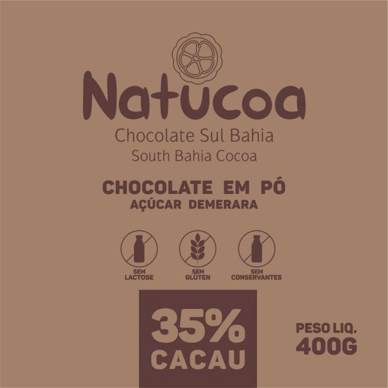 CHOCOLATE EM PO 35% DEMERARA NATUCOA