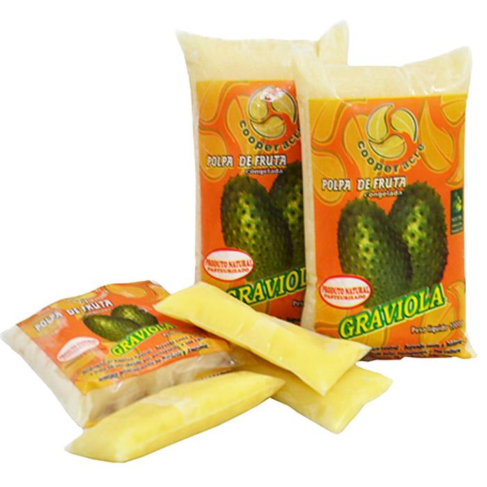 Polpa de Fruta de Graviola