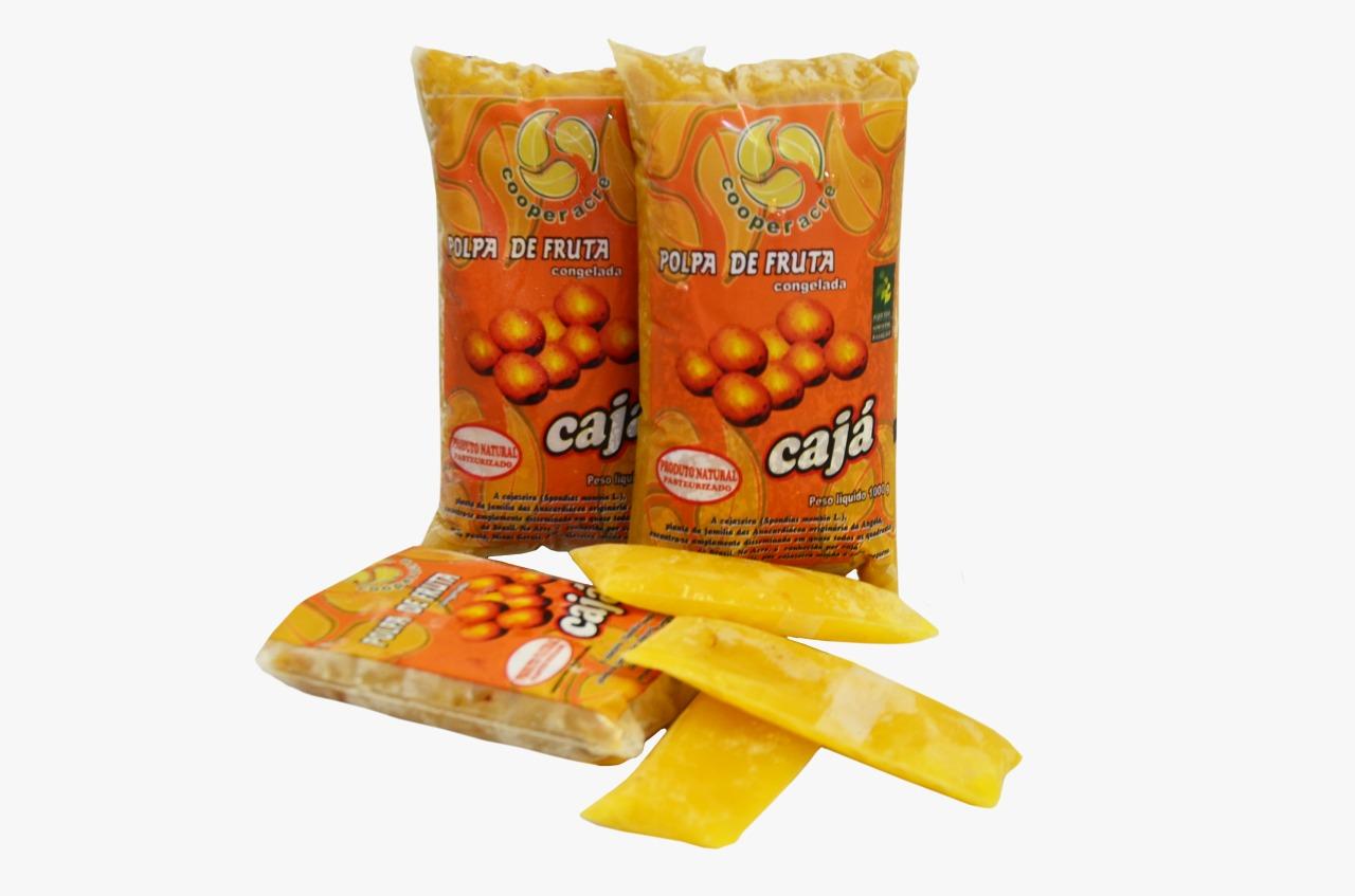 Polpa de Fruta de Cajá