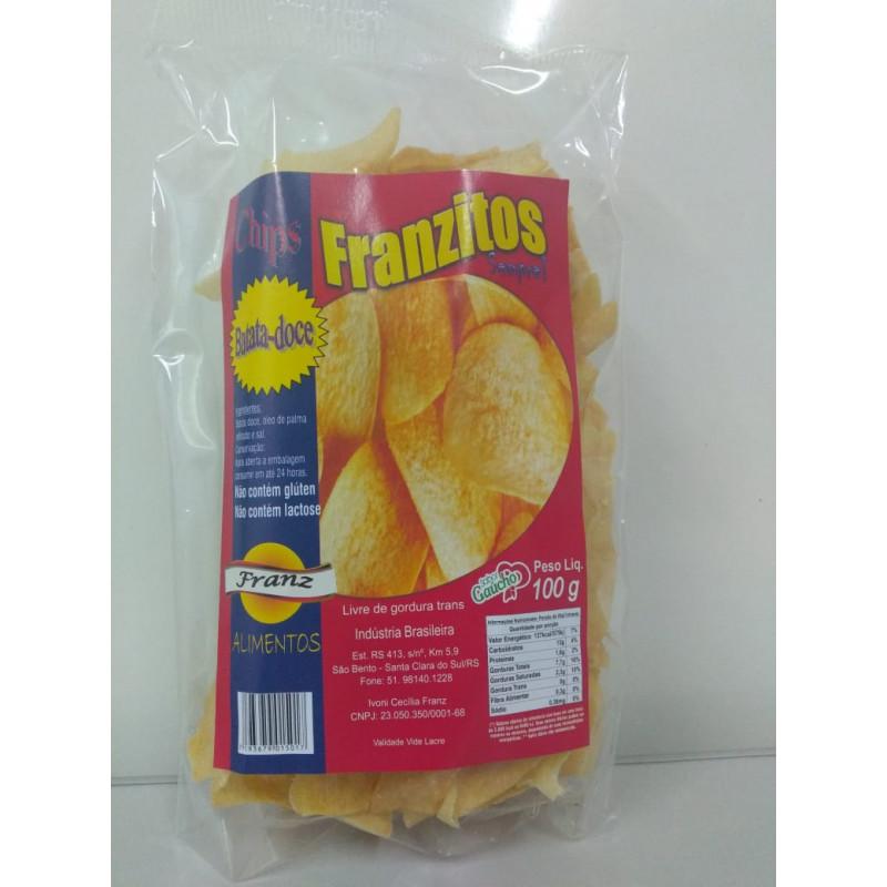 Chips de Batata-Doce Franzitos