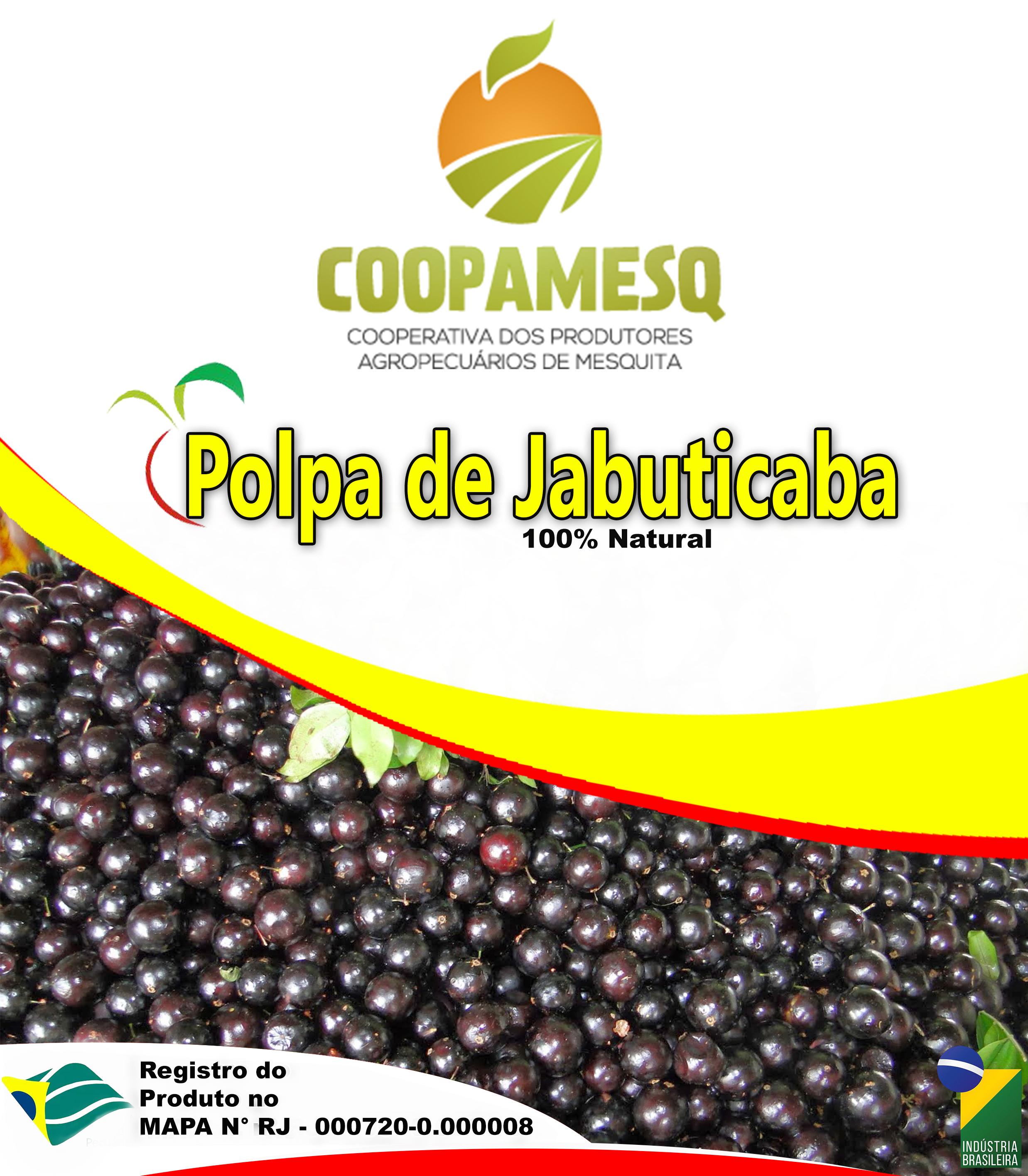 Polpa de Jabuticaba