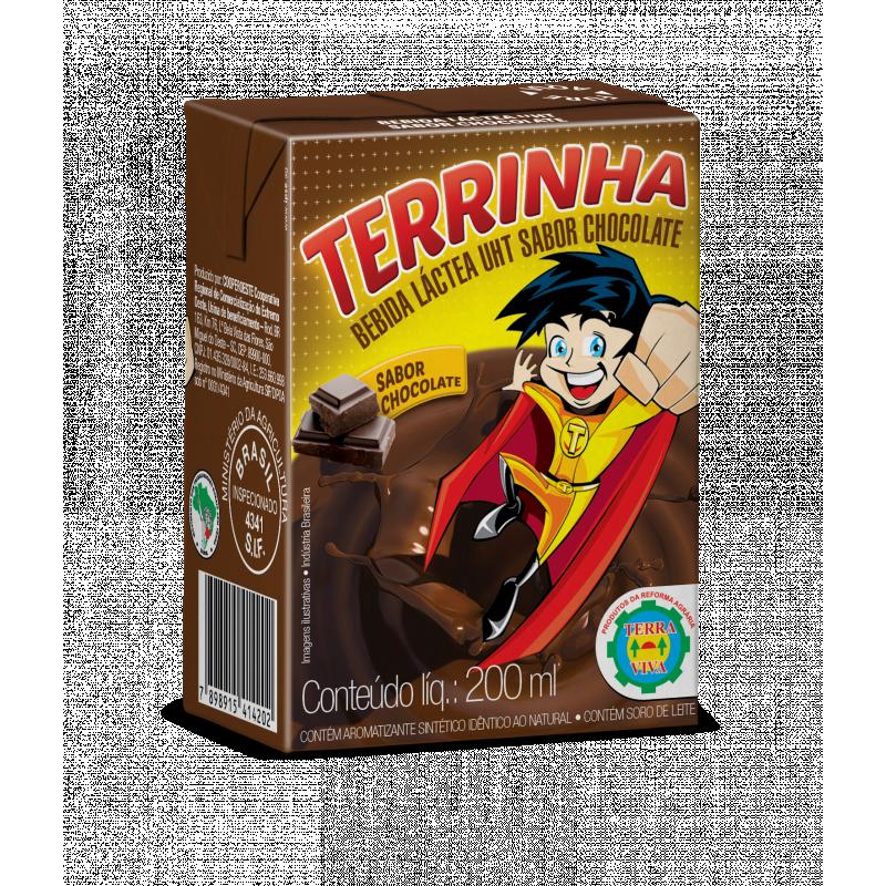 Bebida Láctea UHT Sabor Chocolate Terrinha