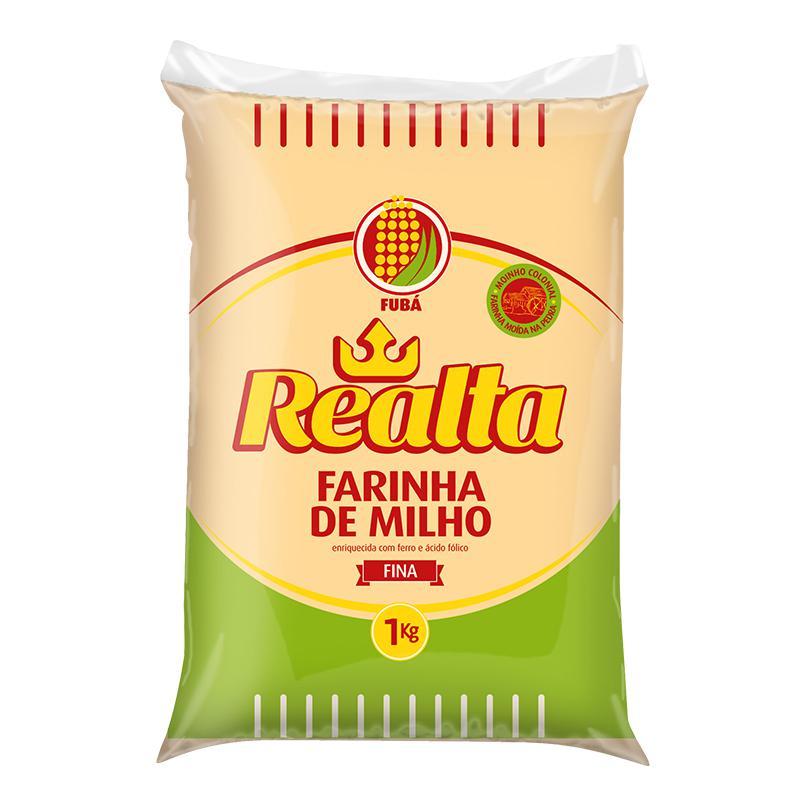 Farinha Milho Doméstica Realta