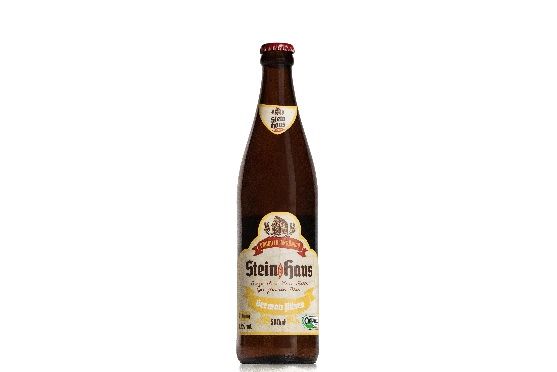 Cerveja orgânica SteinHaus German Pilsen