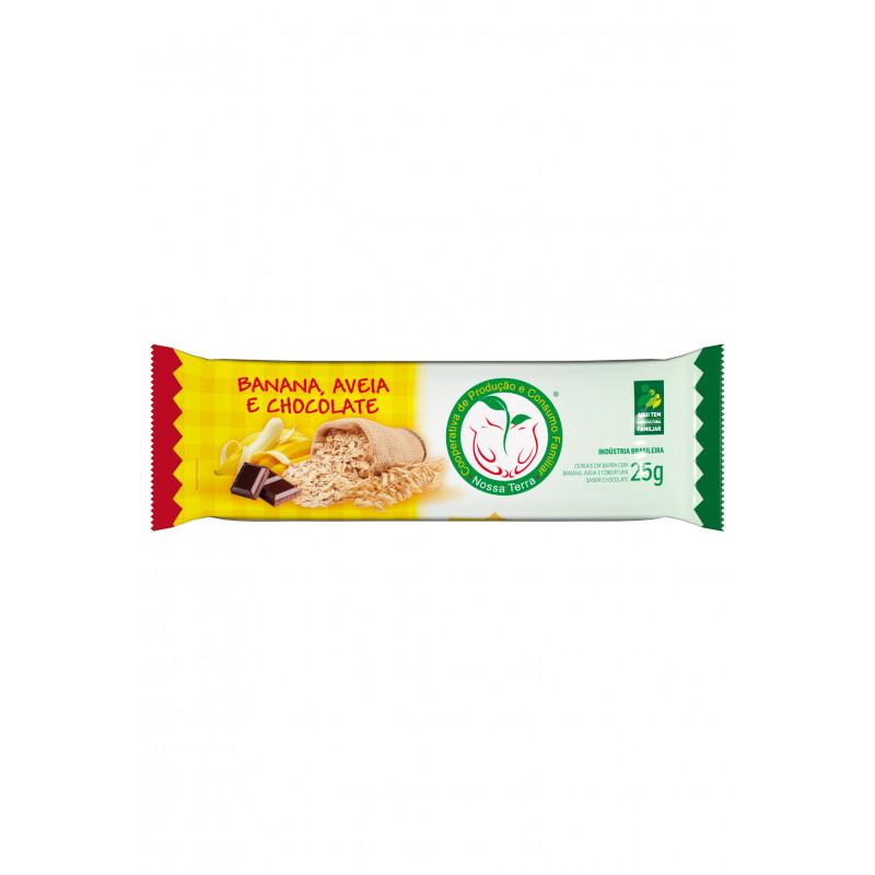 Barra Cereal Banana Com Chocolate 25g