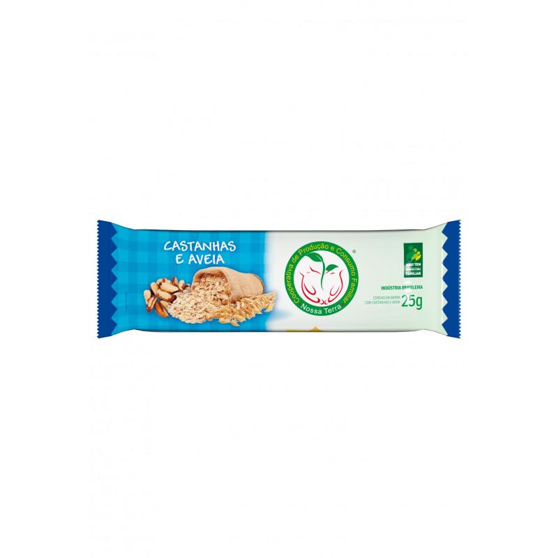 Barra Cereal Castanha 25g