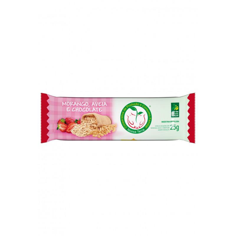 Barra Cereal Morango com Chocolate 25g