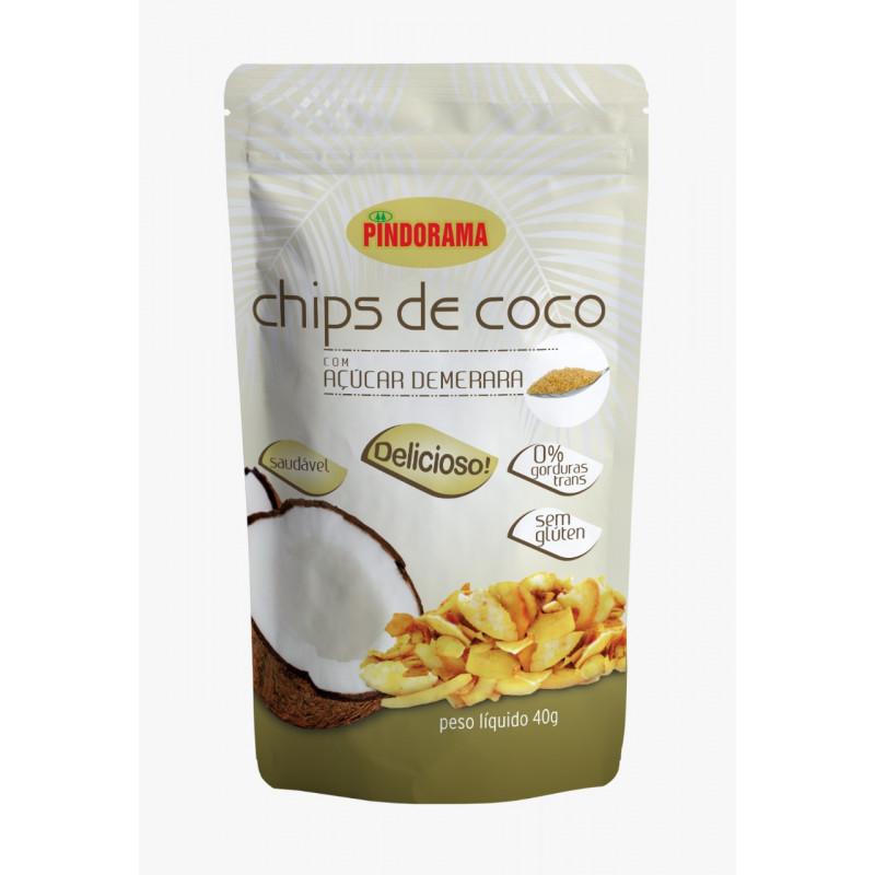 Chips de Coco sabor Demerara
