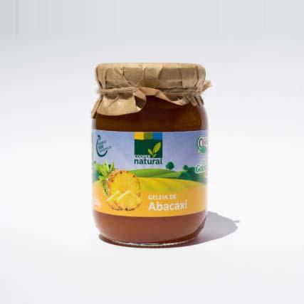 Geleia de  Abacaxi Orgânica