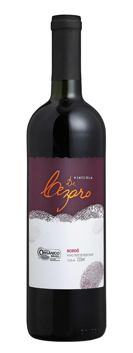 Vinho Tinto de Mesa Suave Bordô 720 ml