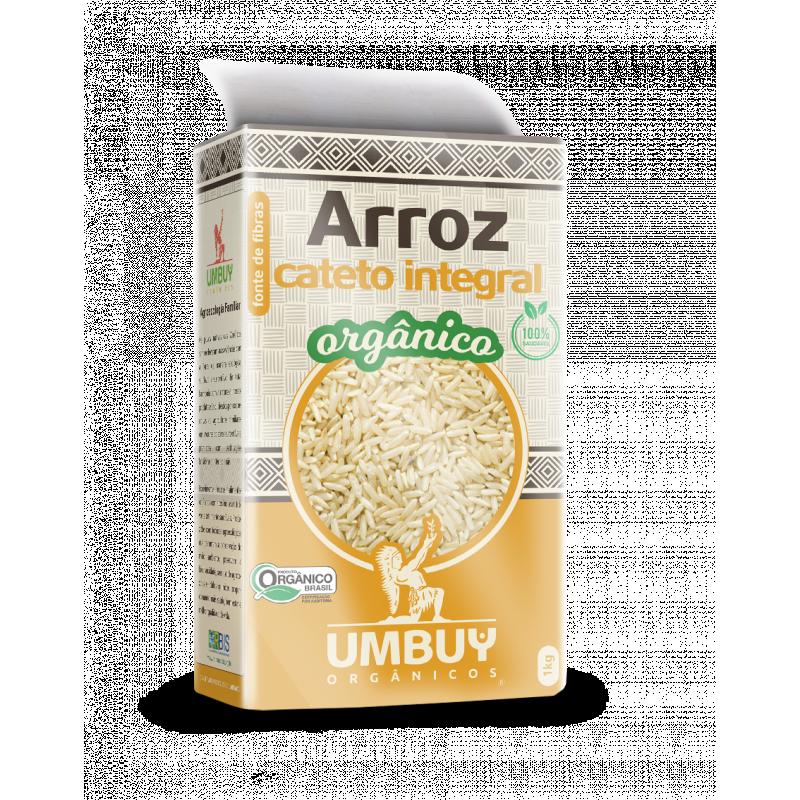 ARROZ CATETO INTEGRAL ORGÂNICO UMBUY ORGÂNICOS