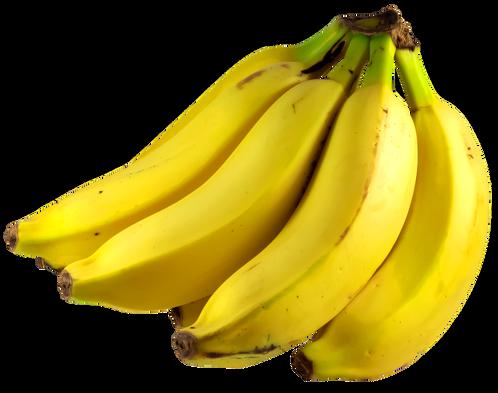 Banana prata in natura