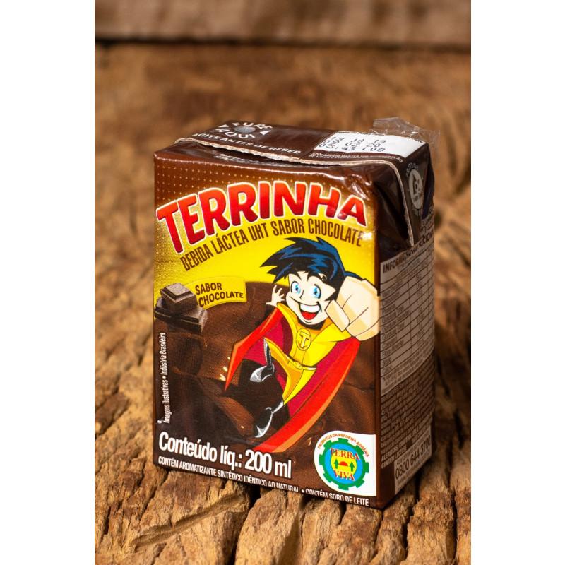 Bebida Láctea Sabor Chocolate Terrinha