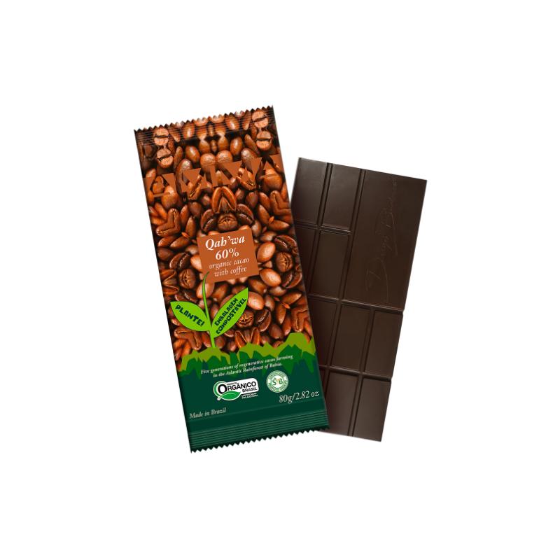 Chocolate Qah'wa 60%
