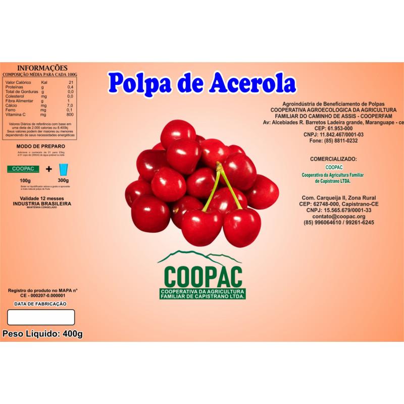 Polpa de Acerola 400g