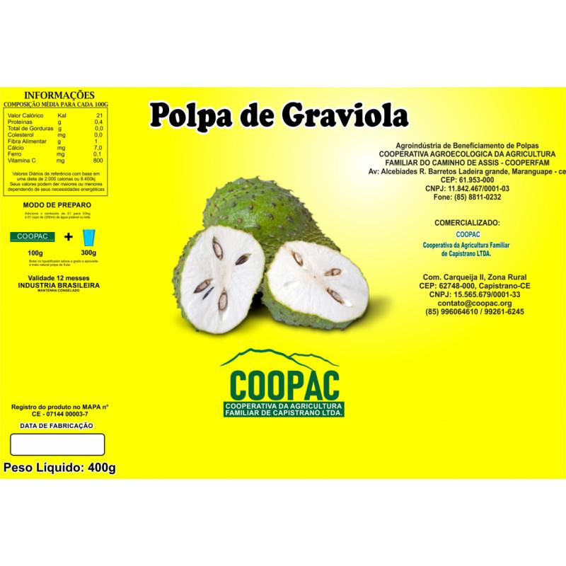 Polpa de Graviola 400g