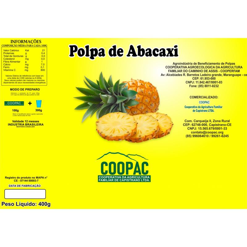 Polpa de Abacaxi 400g