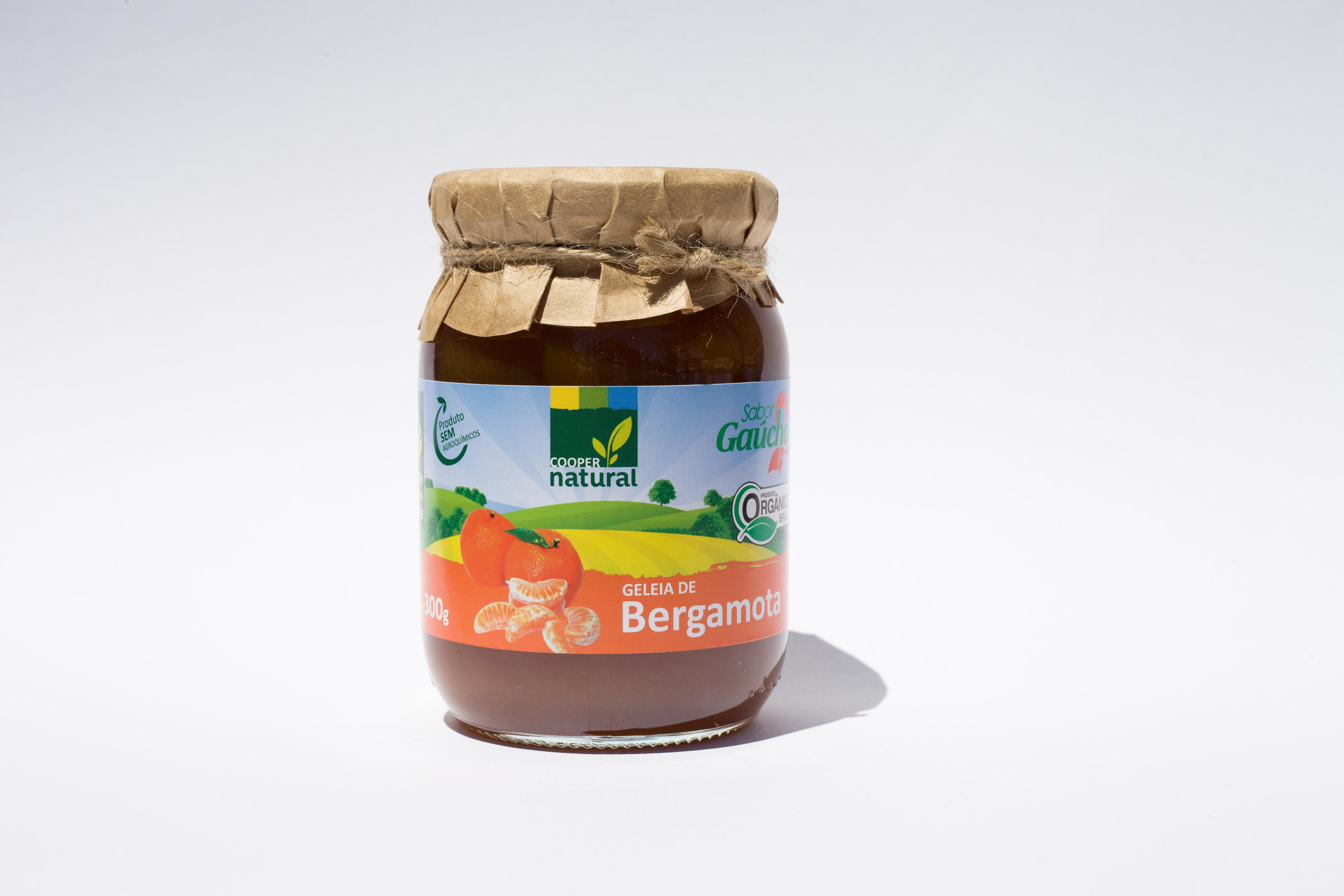 Geleia de Bergamota Orgânica
