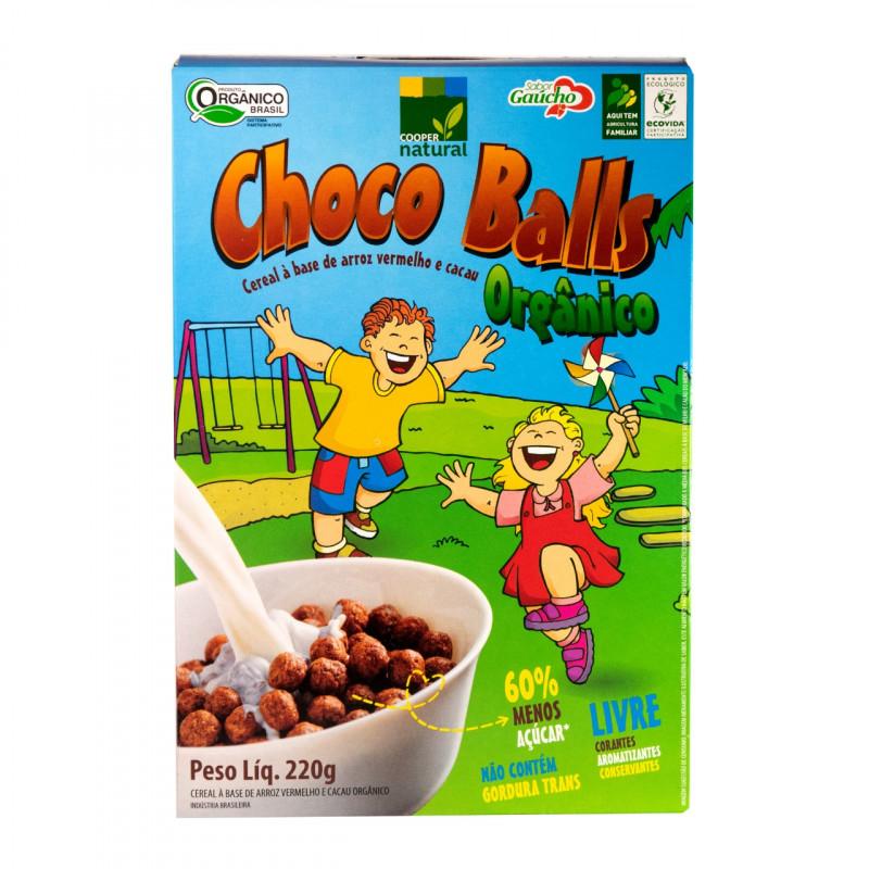 Choco Balls - Cereal a base de Arroz Vermelho 220gr