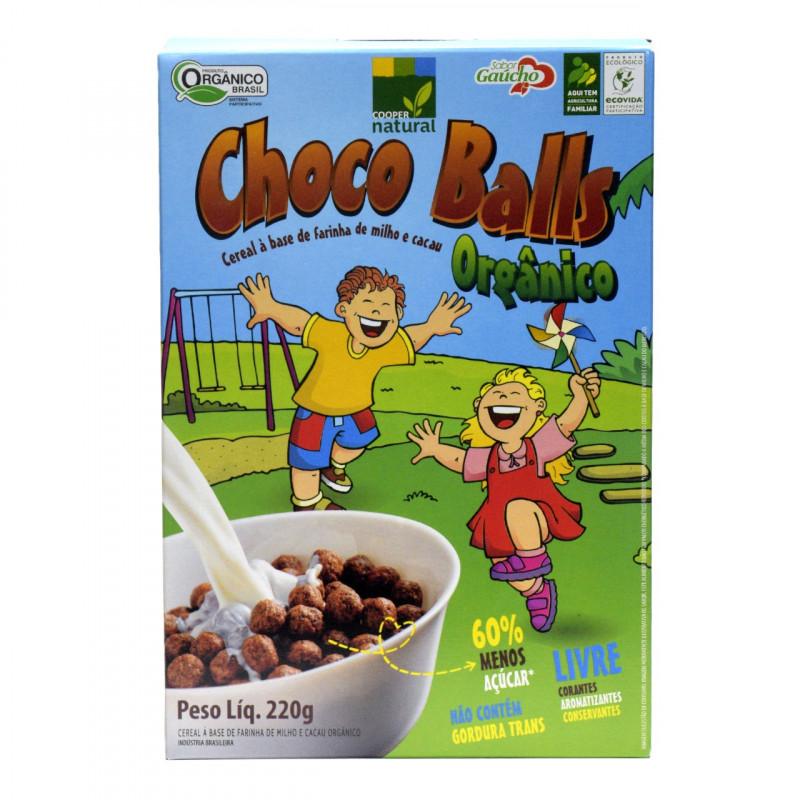 Choco Balls - Cereal a base de Farinha de Milho 220gr