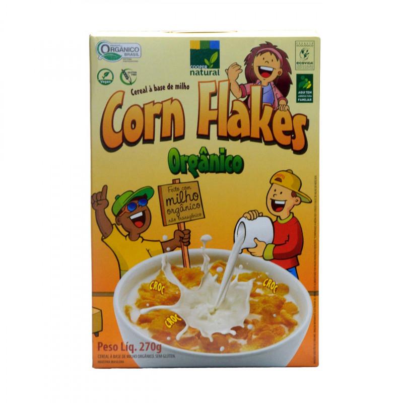 Corn Flakes - Cereal a base de Farinha de Milho 270g