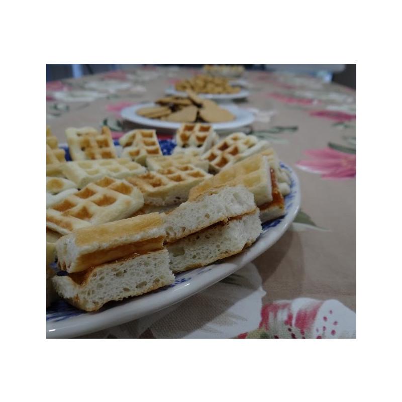 Waffle Caseiro